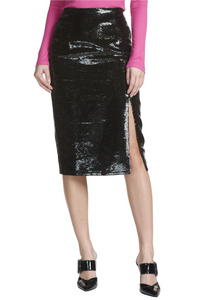 Madison Sequin Pencil Skirt