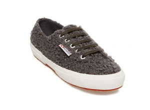 Curly Synthetic Wool Sneaker