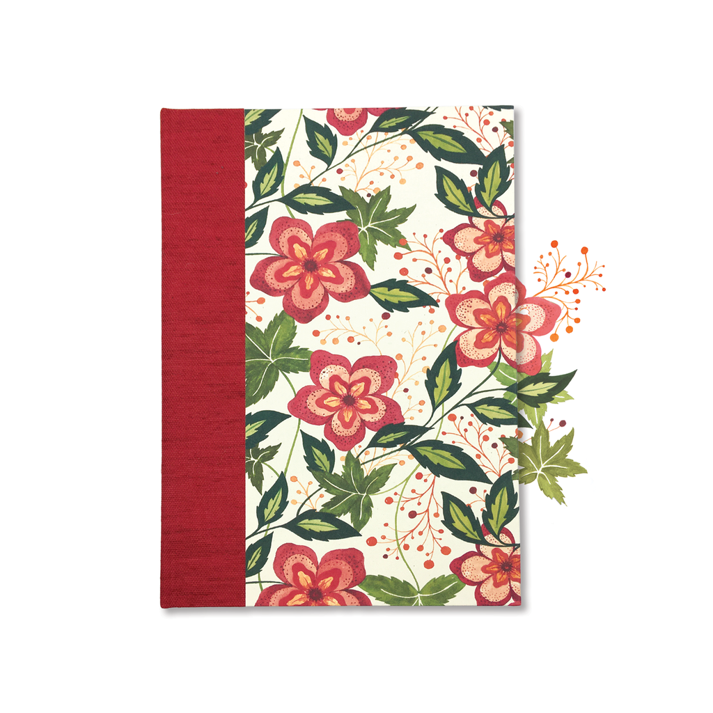 Bliss Botanical Hard Cover Journal