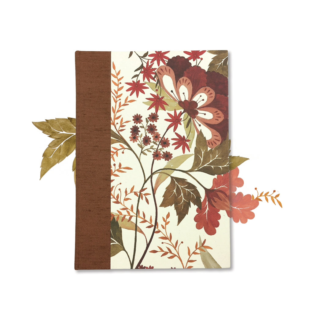 Charm Botanical Hard Cover Journal