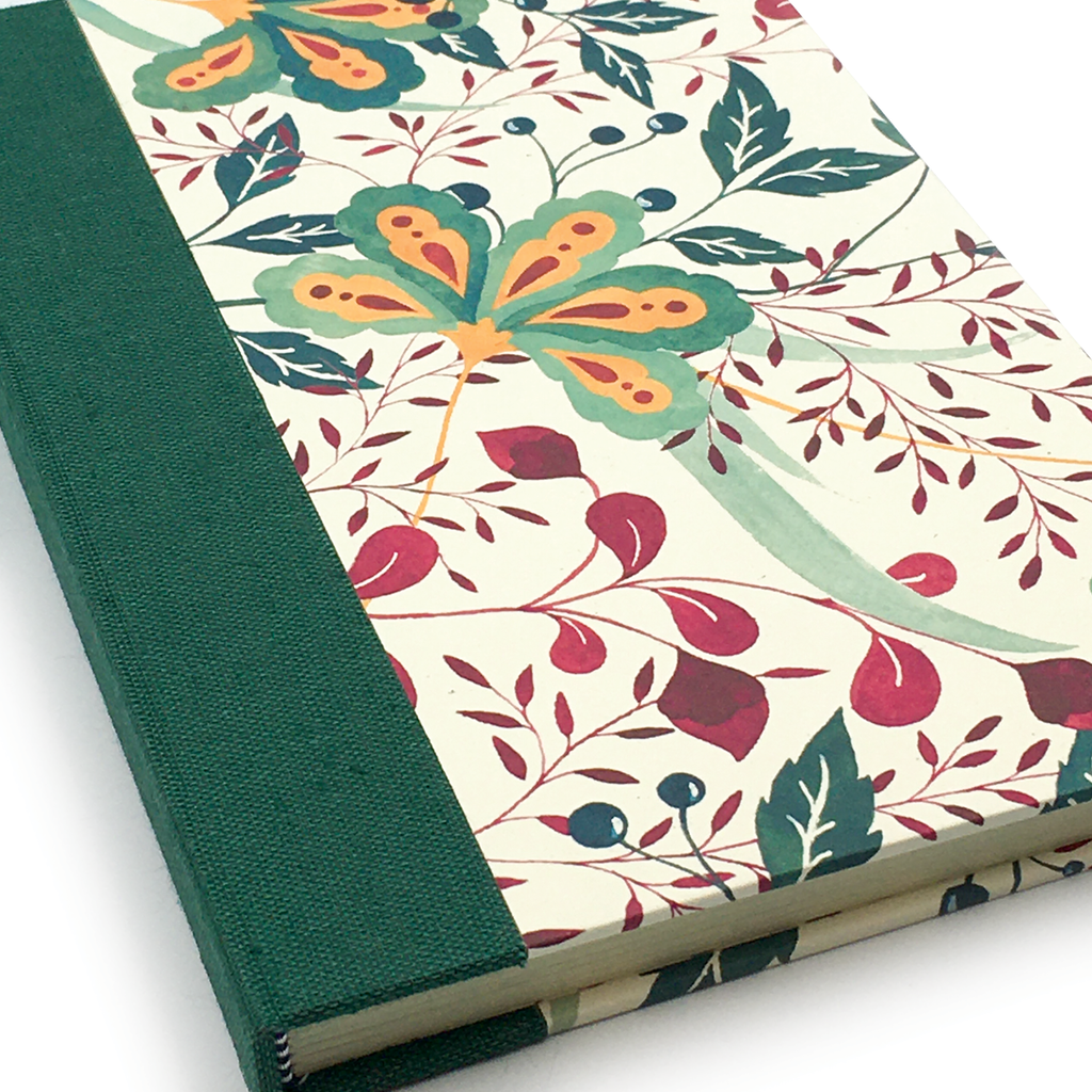 Delight Botanical Hard Cover Journal