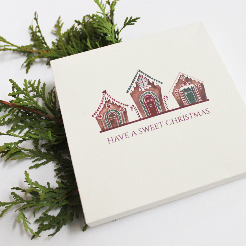Gingerbreads Holiday Greeting Card Box Set