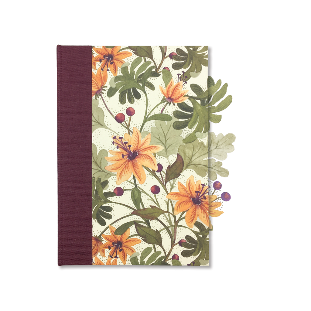Glee Botanical Hard Cover Journal