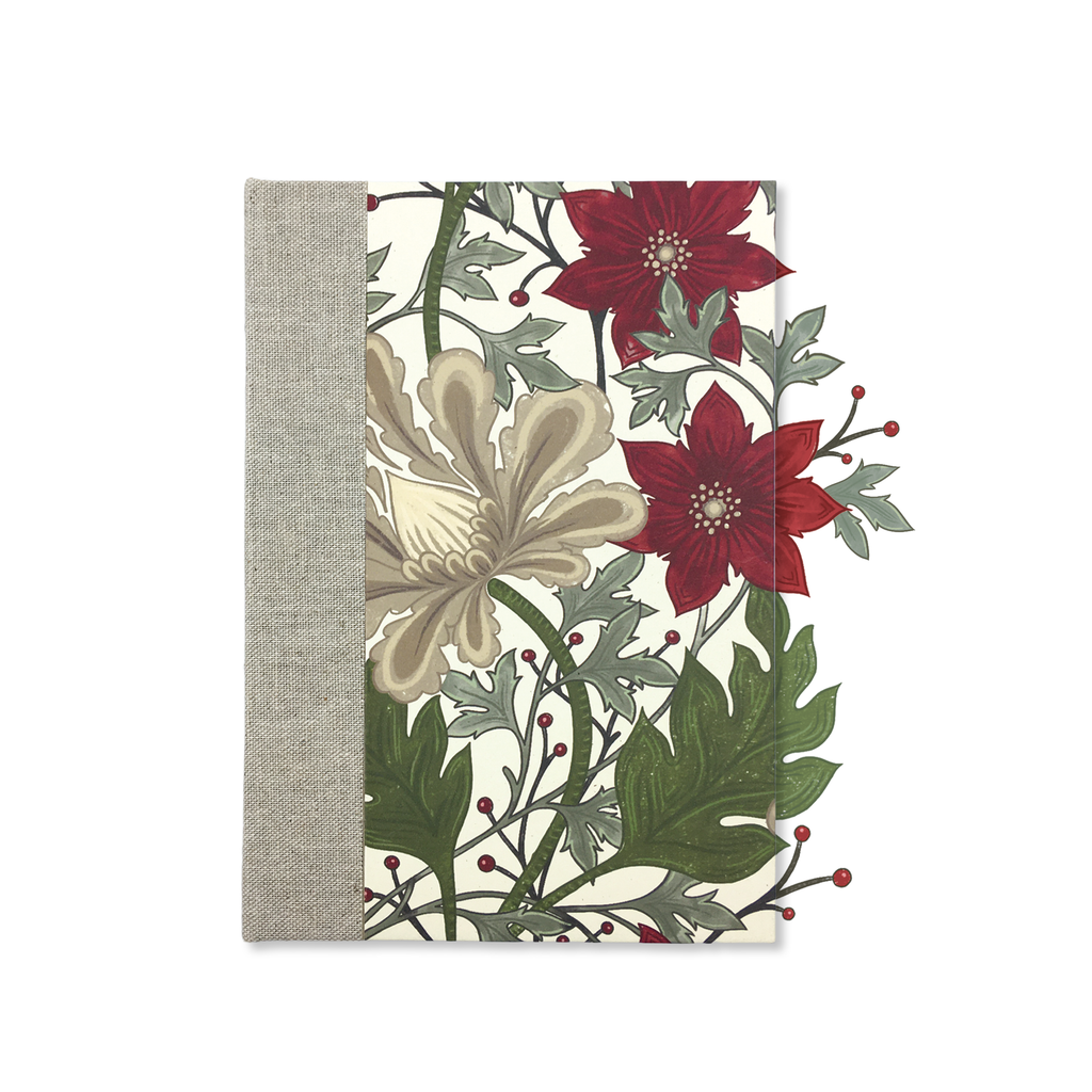 Merry Botanical Holiday Hard Cover Journal