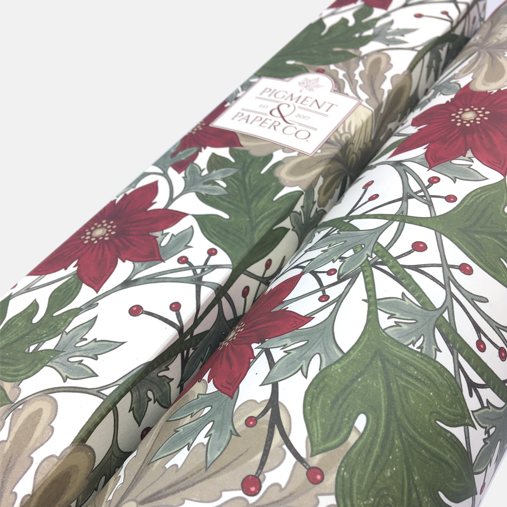 Merry Botanical Holiday Eco Gift Wrap