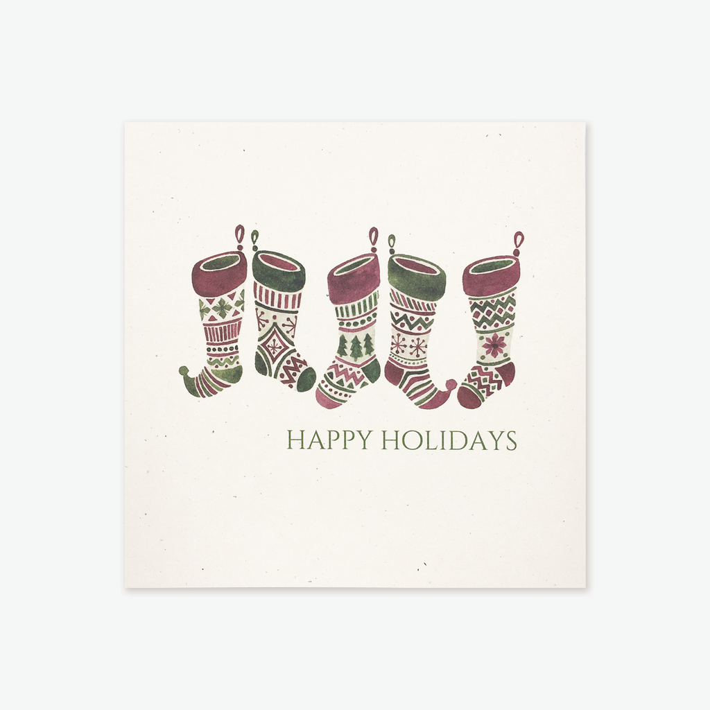 Stockings Holiday Greeting Card Box Set