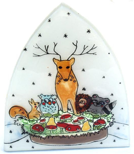 The Bridge Fair Trade Handmade Woodland Deer Nightlight from Ecuador