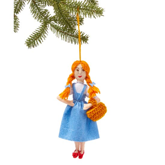 The Bridge Fair TRade handmade dorothy ornament