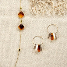 Load image into Gallery viewer, The Bridge Fair Trade Handmade Amelia Mixed Hoops from India
