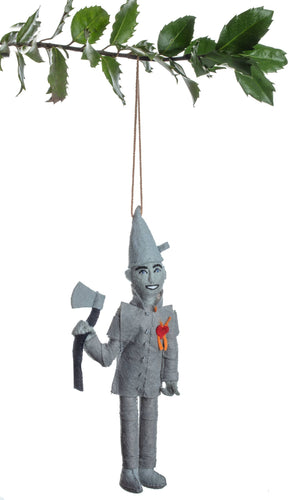 The Bridge Fair Trade Handmade Tin Man Ornament