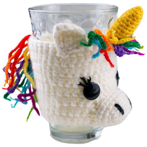 The Bridge Fair Trade Handmade Knit Animal Cup Cozy