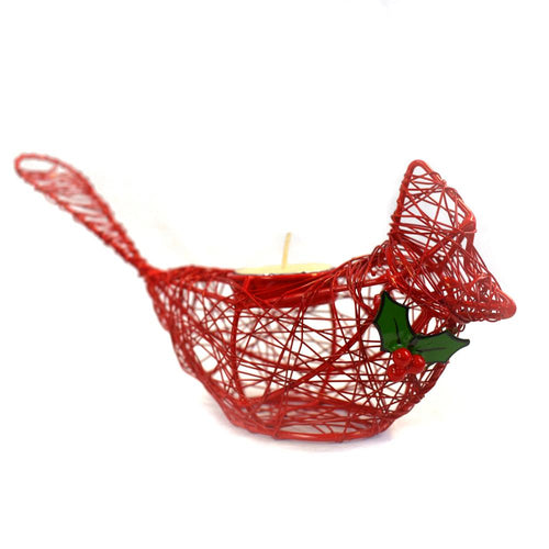 The Bridge Fair Trade Handmade Winter Cardinal from India