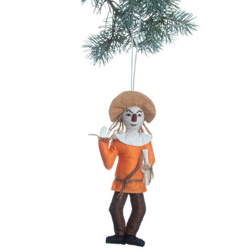 The Bridge Fair TRade Handmade Scarecrow Ornament