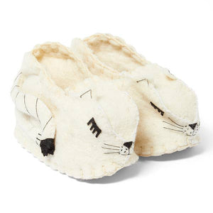The Bridge Handmade Fair trade cat slippers