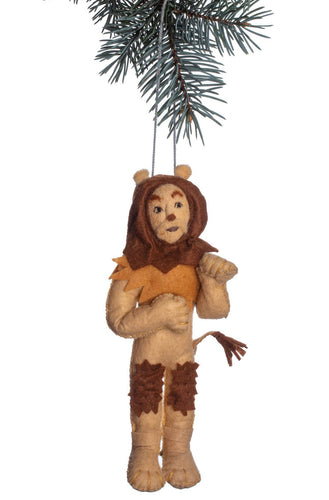 The Bridge Fair Trade Handmade Cowardly Lion Ornament