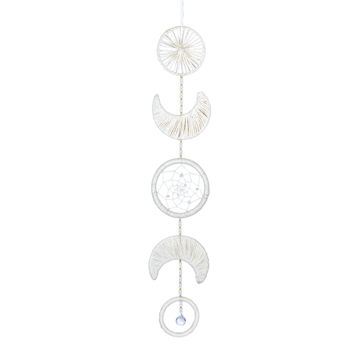 The Bridge Fair Trade Handmade Little Lunar Phases Dream Catcher from Nepal