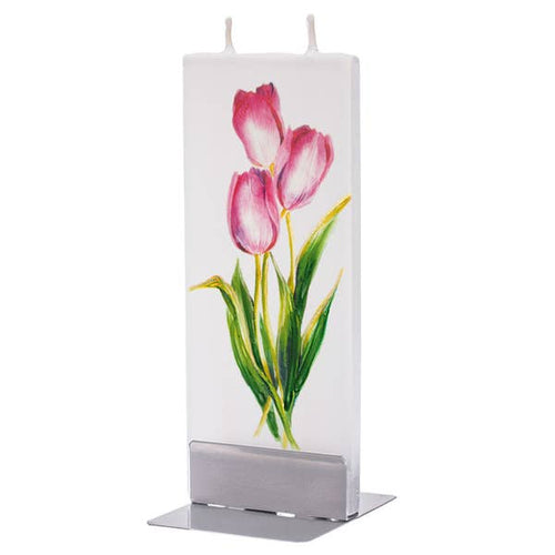 The Bridge Fair tRade handmade tulip candle