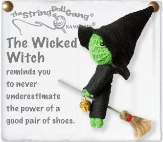 The Bridge Fair Trade Handmade Wicked Witch STring Doll from Thailand
