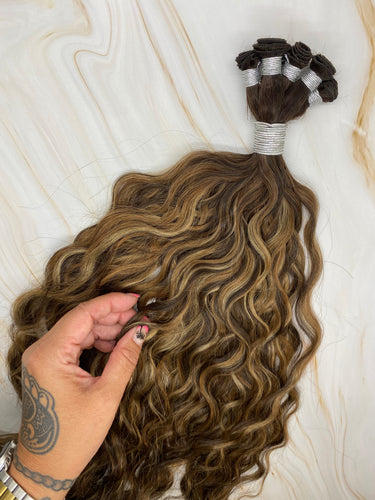 THE MEGAN-22 INCH HAND TIED WEFT 100 GRAMS 2/4/27