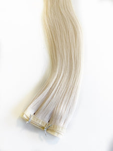 THE TATJANA-NON ROOTED. HYBRID WEFT. 100 GRAMS