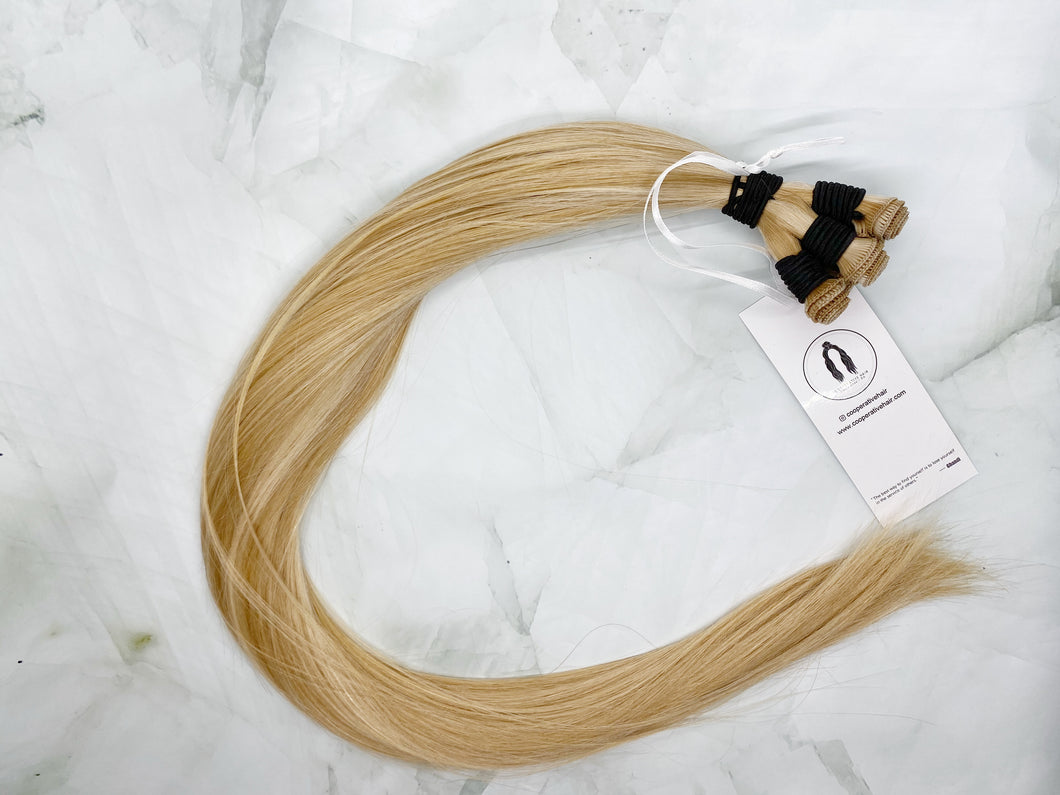 THE SHELLY P14/22 24 INCH 120 GRAMS HAND TIED WEFT