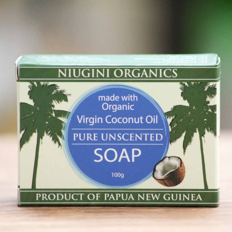 Niugini Organics - Coconut Oil Soap - Unscented