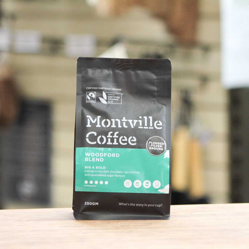 Montville Coffee - Woodford Blend Plunger