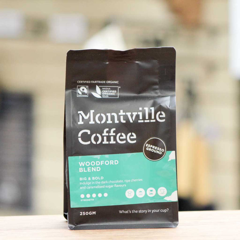 Montville Coffee - Woodford Blend Espresso
