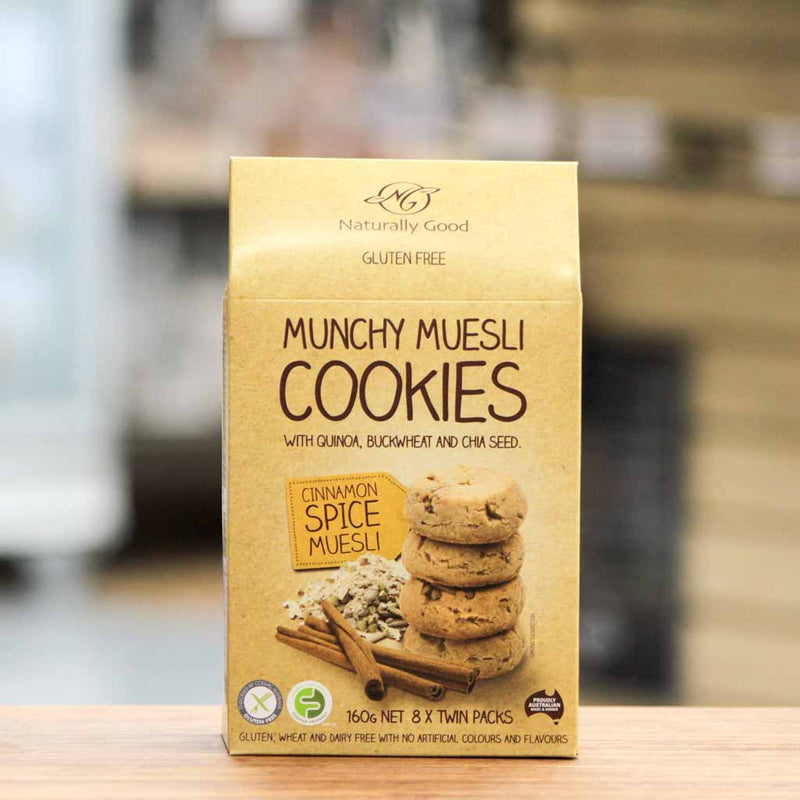 Naturally Good - Munchy Muesli Cookies | Cinnamon Spice