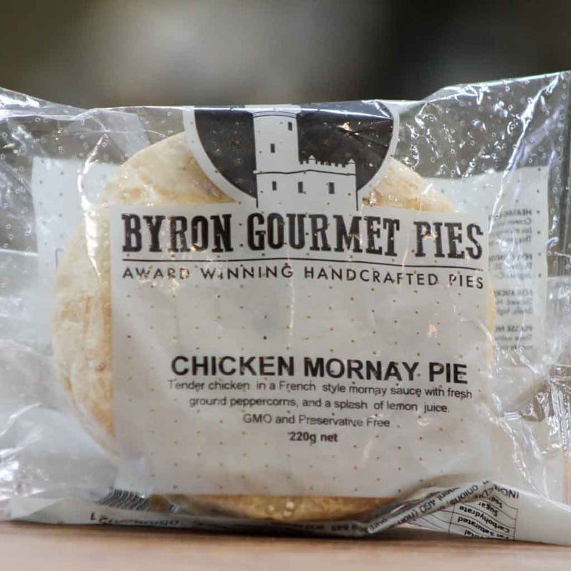 Byron Gourmet Pies - Freezer | Chicken Mornay