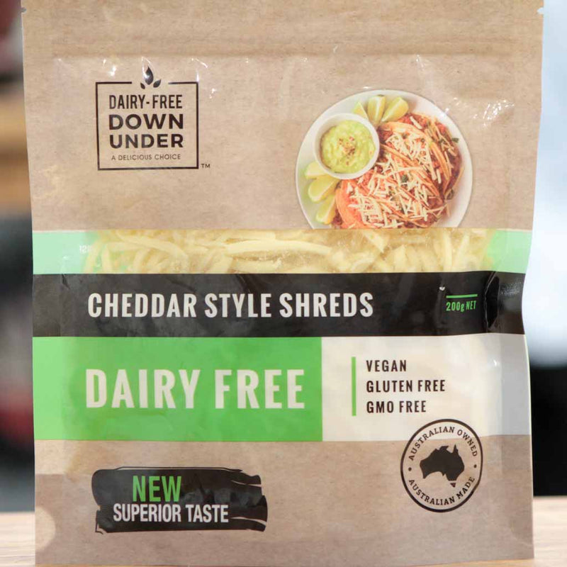 Dairy Free Down Under - Cheddar Shreds