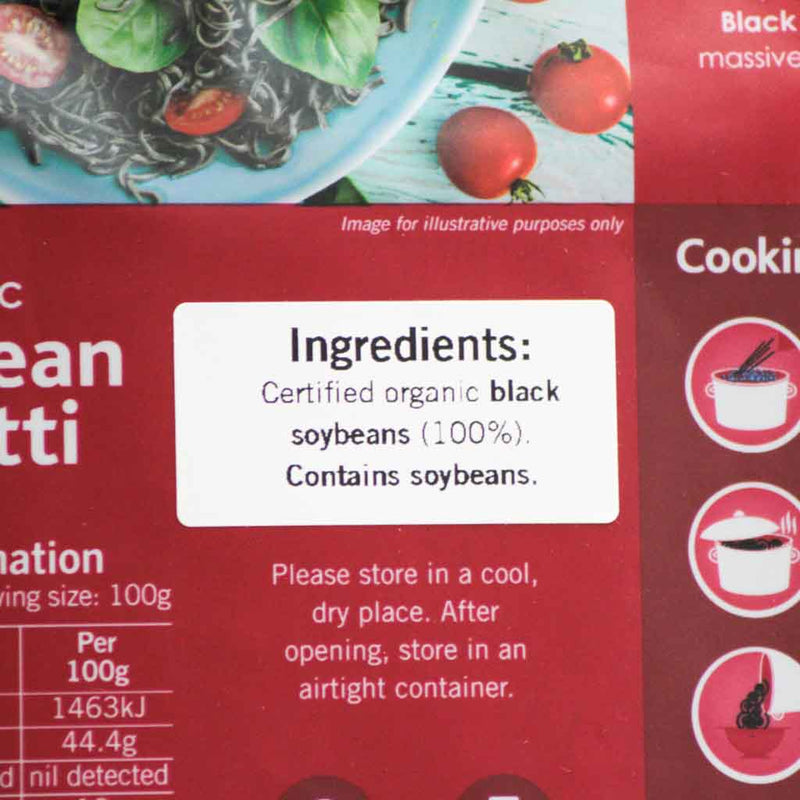 Eco Organics - Organic Black Bean Spaghetti - Ingredients