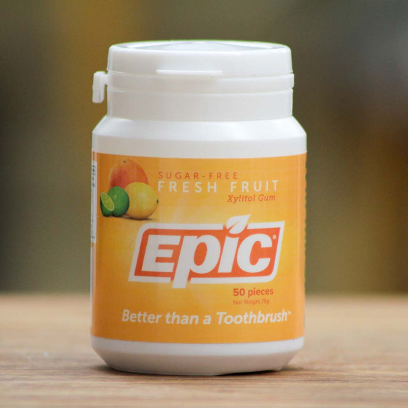 Epic - Xylitol Fresh Fruit Chewing Gum