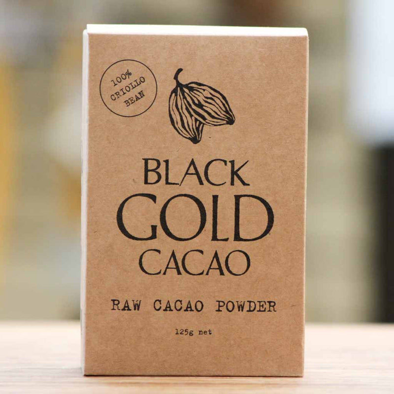 Black Gold Cacao - Black Gold Criollo Cacao Powder