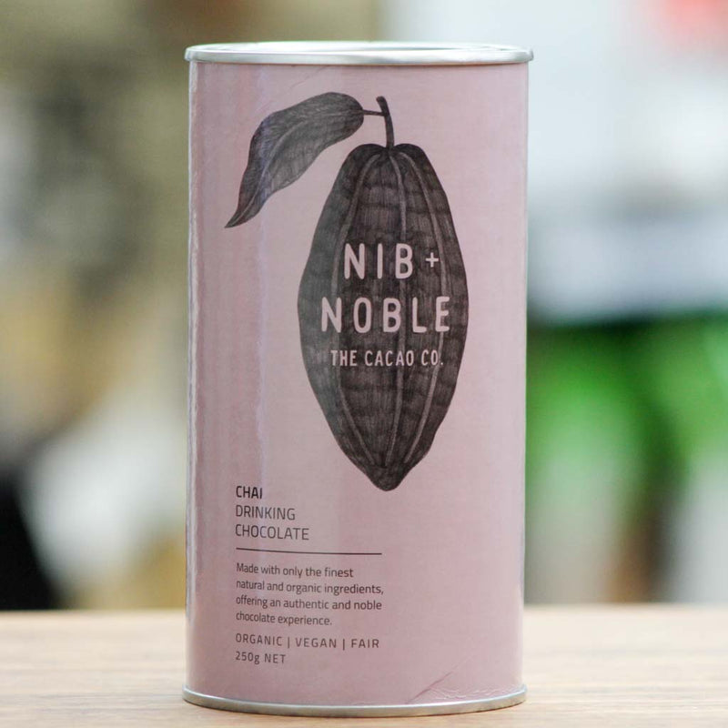 Nib and Noble - Chai Drinking Choc