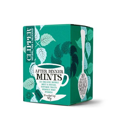 Clipper - Tea High End Herbal After Dinner Mints Organic Enveloped