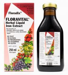Floradix - Floravital Herbal Liquid Iron