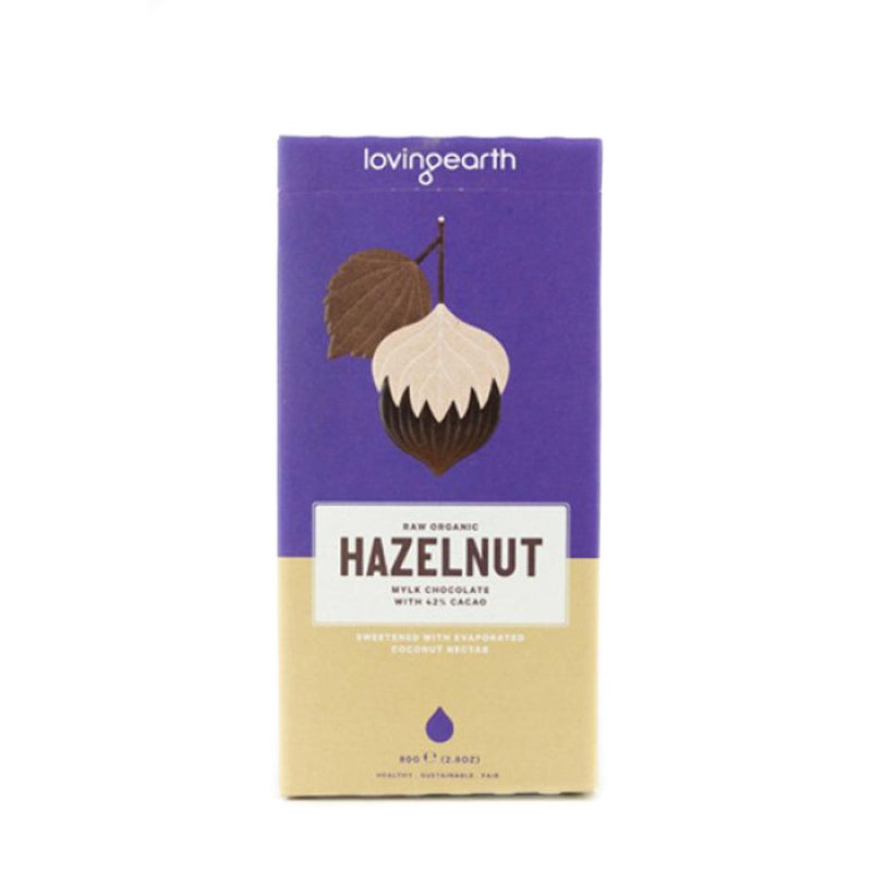 Loving Earth - Hazelnut Mylk Chocolate