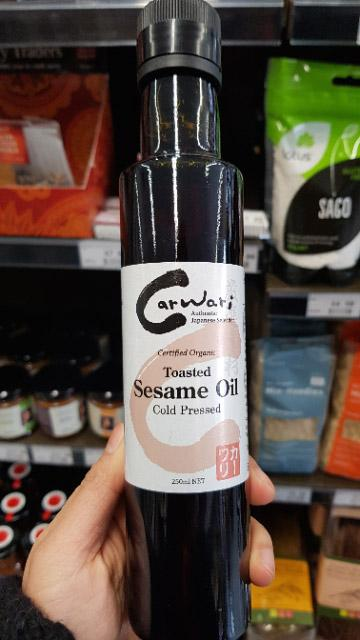 Carwari - Organic Toasted Sesame Oil