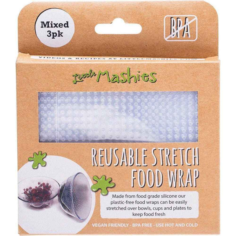 Little Mashies - Silicone Food Wrap