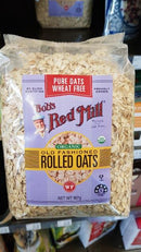 Bobs Red Mill - Organic Rolled Oats Wheat Free