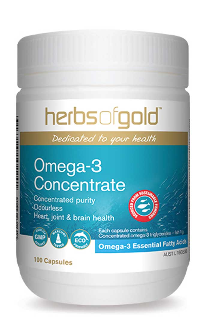 Herbs Of Gold - Omega-3 Concentrate