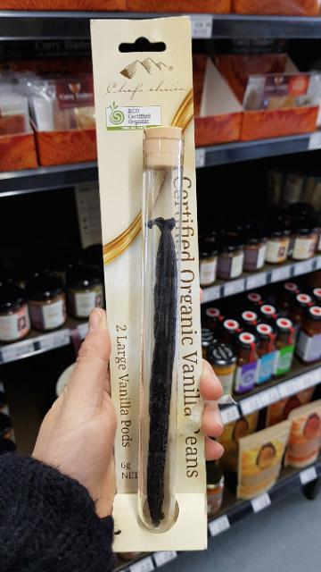 Chefs Choice - Large Vanilla Beans in a Test Tube