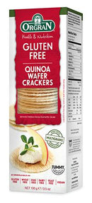 Orgran - Wafer Crackers with Quinoa
