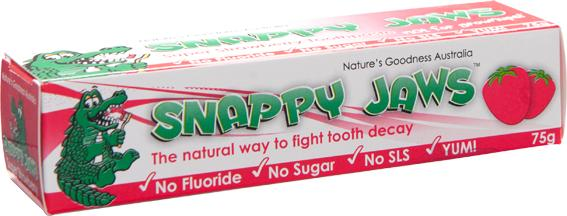 Natures Goodness - Snappy Jaws Toothpaste Super Strawberry