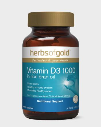 Herbs Of Gold - Vitamin D3 1000