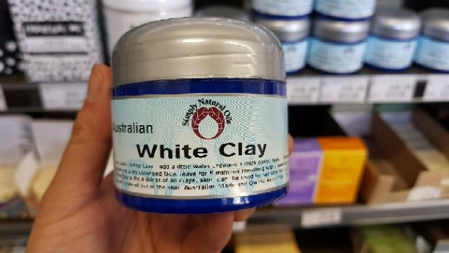 Simply Natural Oils - White Clay