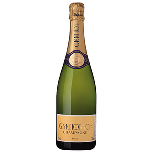Champagne Gratiot Almanach No 1 Brut 750ml $58.95 per bottle, 375ml $38.95 per bottle
