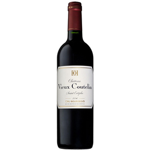 2014 Chateau Vieux Coutelin MDC, AOP Saint Estephe, $51.95 per bottle, Case of 6