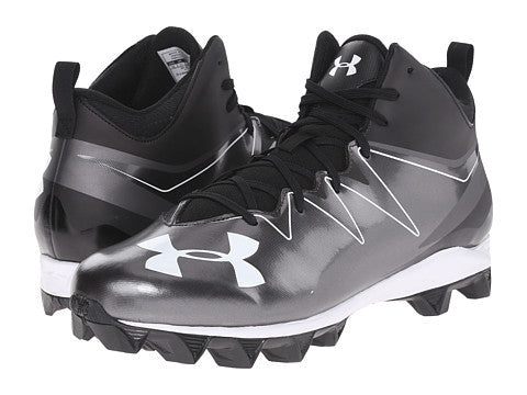 Under Armour Hammer Mid RM - Blk/Blk/Wht - Kids